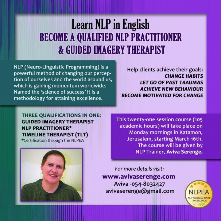 Certified NLP Practitioner Course